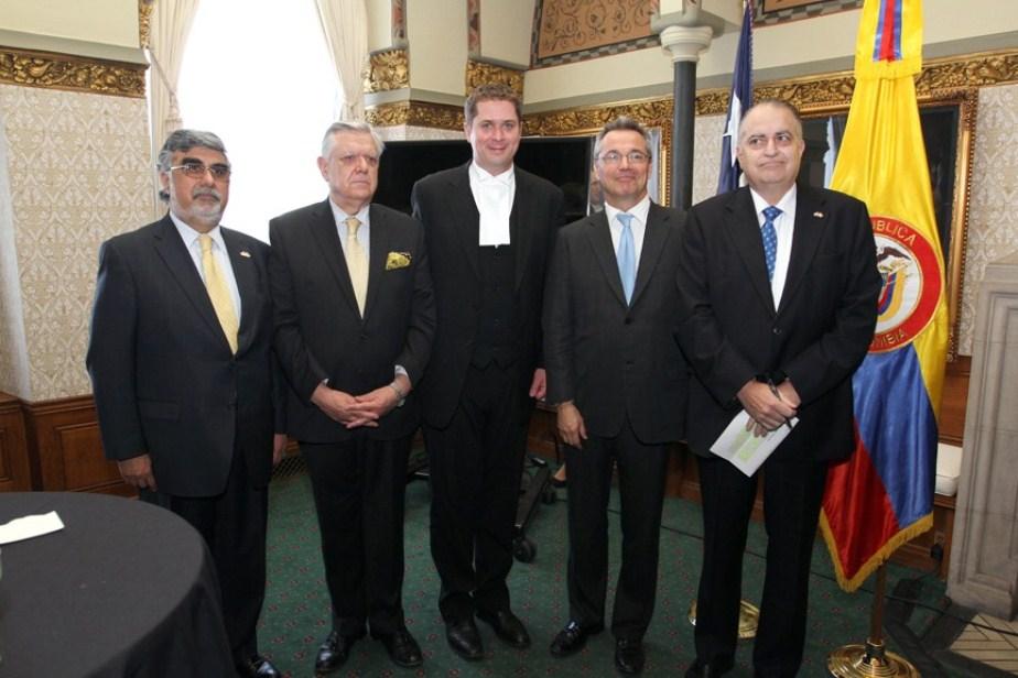 Festival Gastronómico de la Alianza Pacífico en el Parlamento de Canadá