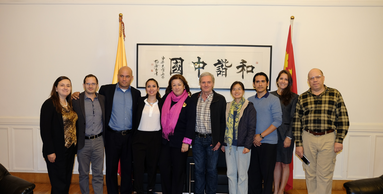 Sergio Cabrera ofreció una Rueda de Prensa y se reunió con la Asociación de Amistad del Pueblo Chino con el Extranjero - APPCCE