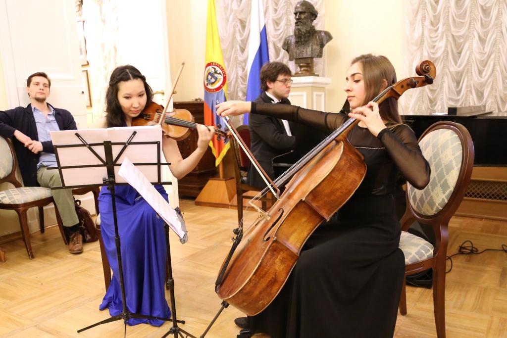La Embajada de Colombia en Rusia realizó con éxito el concierto 'Partituras Redescubiertas' en Moscú