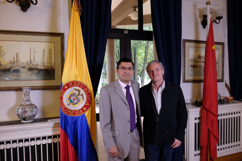 CCTV entrevistó al director de cine Sergio Cabrera durante la visita que adelanta en China