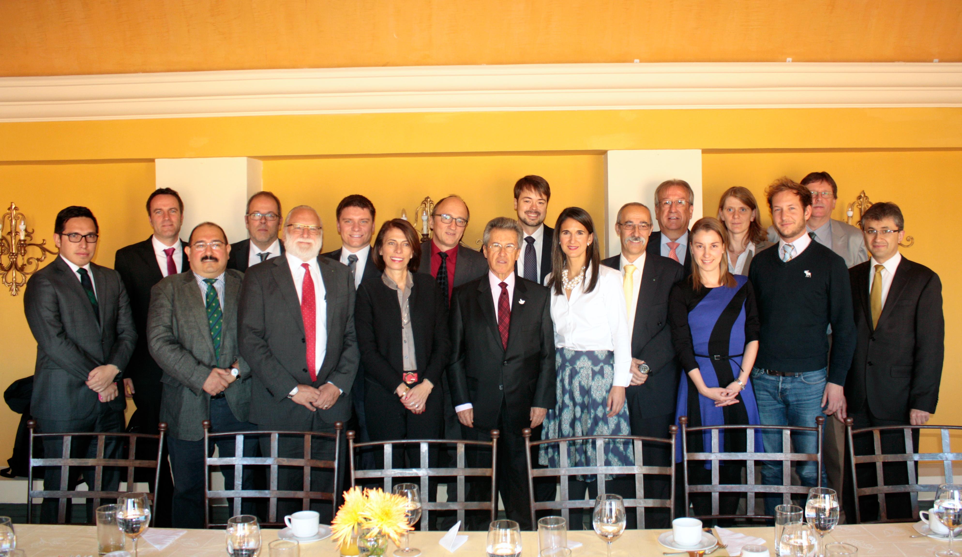 Visita a Colombia de la Sociedad Fraunhofer de Alemania