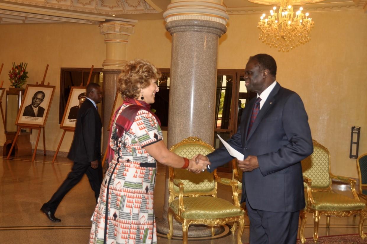 Embajadora Claudia Turbay Quintero presentó cartas credenciales ante el Gobierno de Burkina Faso