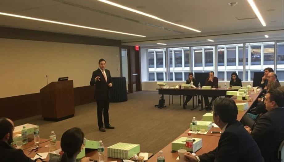 Embajador de Colombia viajó a Nueva York para compartir oportunidades económicas y de inversión