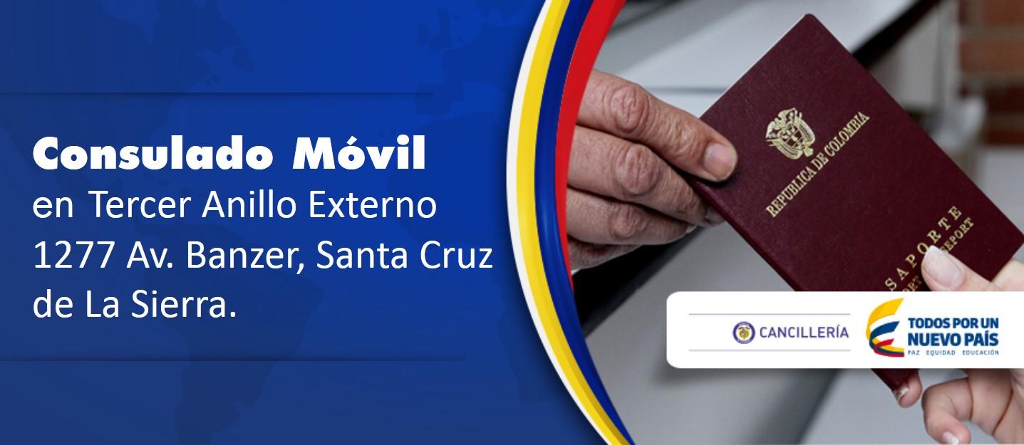 9 y 10 de julio: Consulado Móvil en Santa Cruz de La Sierra