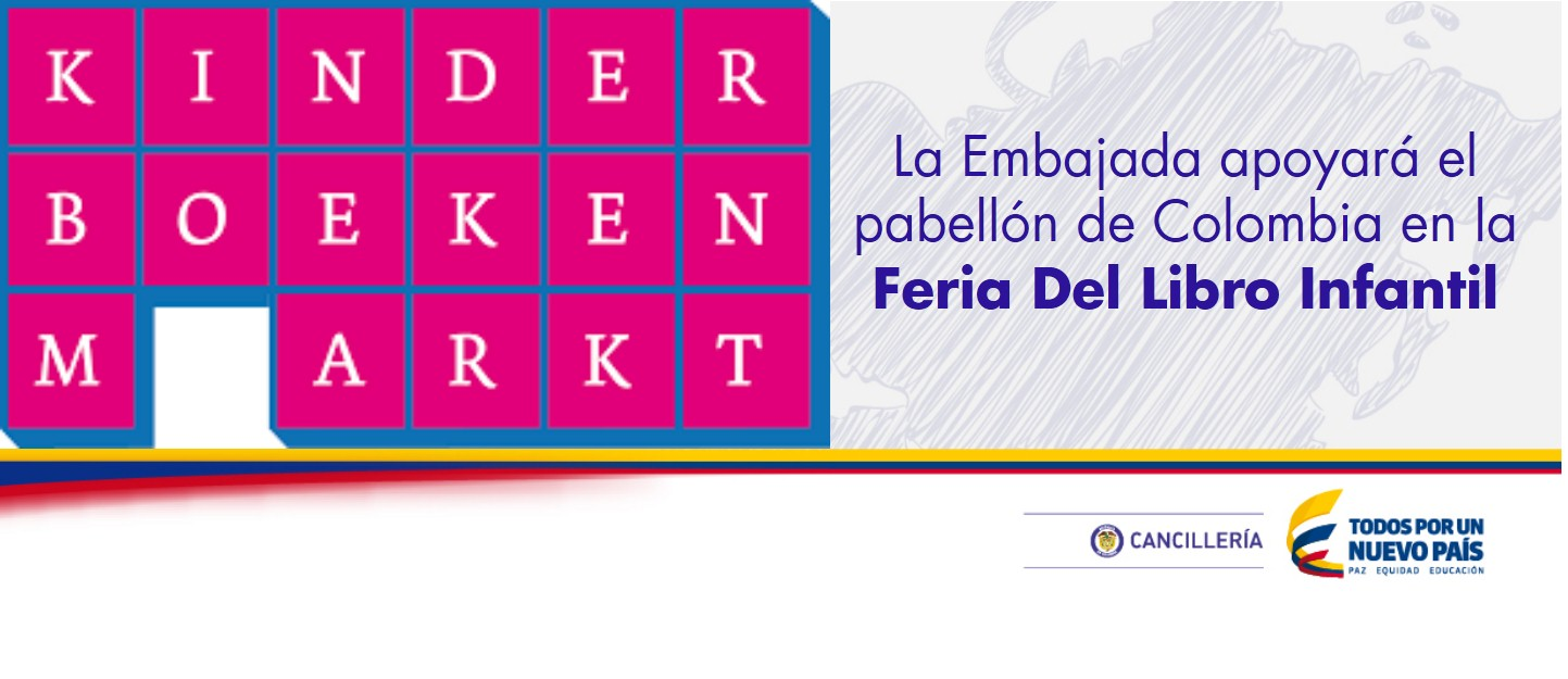 La Embajada apoyará el pabellón de Colombia en la Feria Del Libro Infantil