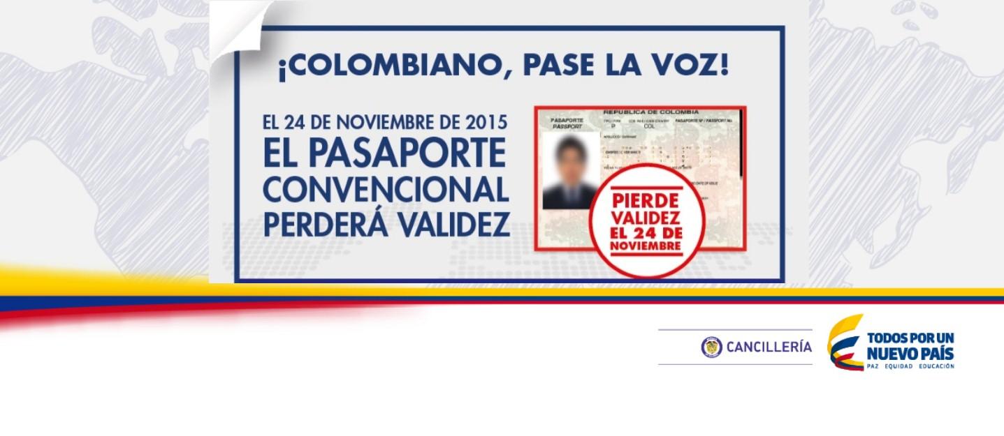 111 consulados de Colombia en el mundo están listos para atender a los connacionales que deseen renovar su pasaporte