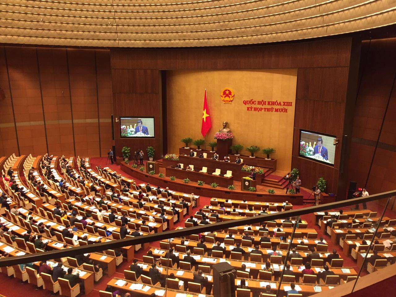 La Embajada de Colombia asistió a la inauguración del 10° periodo de sesiones parlamentarias de Vietnam, XIII Legislatura