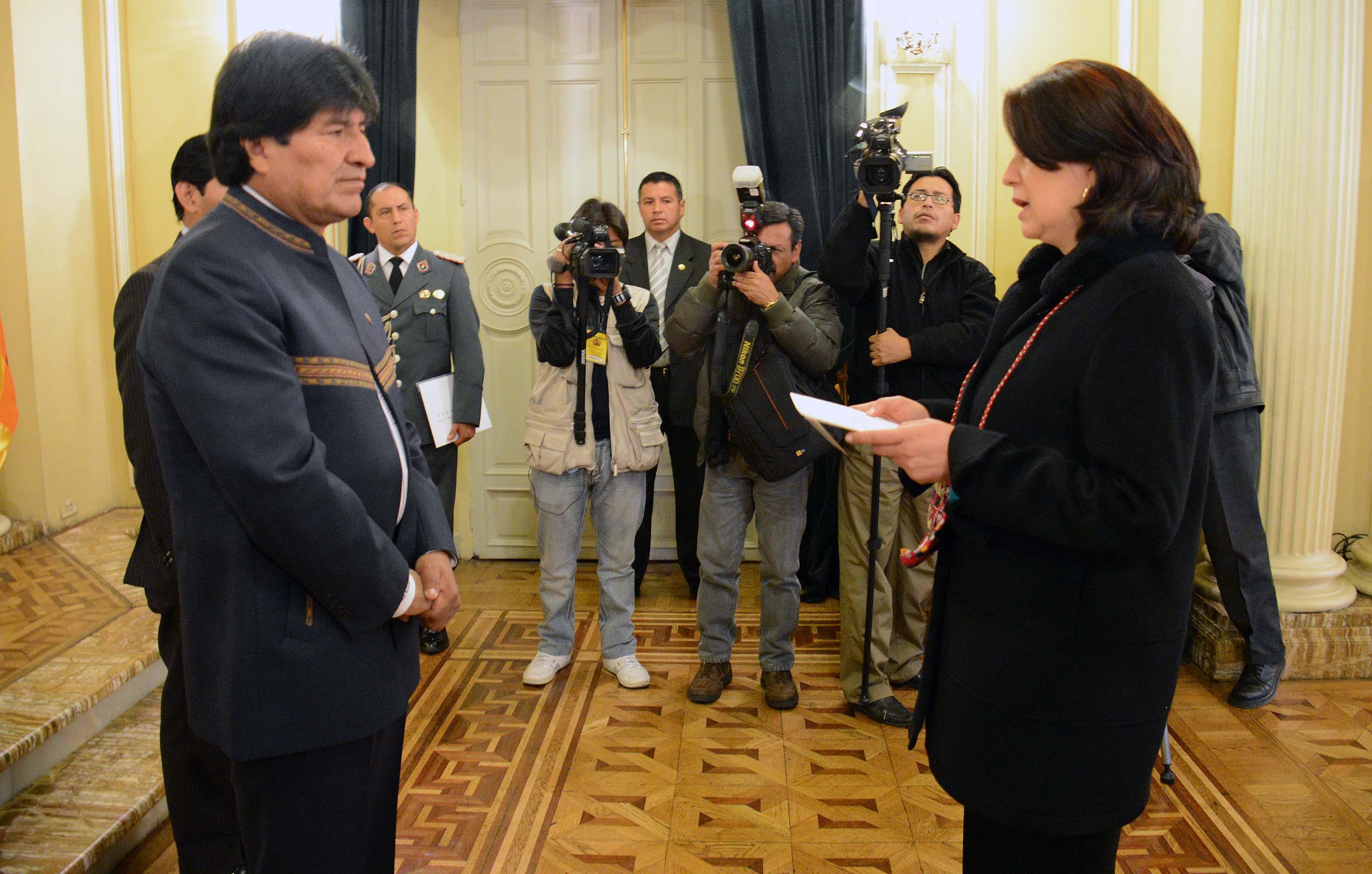 Cartas Credenciales del Embajadora de Colombia en Bolivia